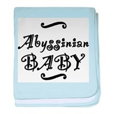 Abyssinian BABY baby blanket