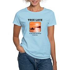 True Love Man, Woman & Boat T-Shirt
