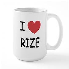 I heart rize Mug