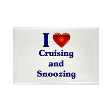 Cruising and Snoozing Rectangle Magnet