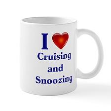 Cruising and Snoozing Small Mug