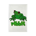 Ribbit Frog Rectangle Magnet (100 pack)