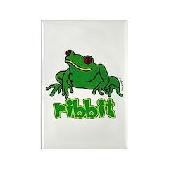 Ribbit Frog Rectangle Magnet