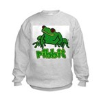 Ribbit Frog Kids Sweatshirt