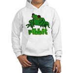 Ribbit Frog Hooded Sweatshirt