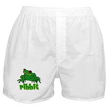 Ribbit Frog Boxer Shorts
