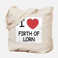 I heart firth of lorn Tote Bag
