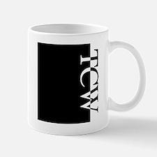 TCW Typography Mug