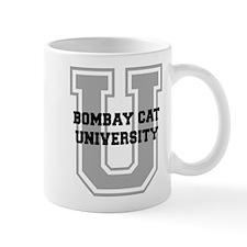 Bombay Cat UNIVERSITY Mug