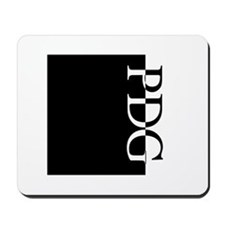 PDG Typography Mousepad