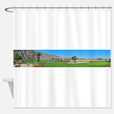 SilverRockHole8 Shower Curtain