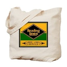 Reading Bee Lines Tote Bag