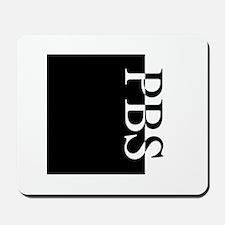 PBS Typography Mousepad