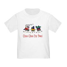 train 2 dark shirt T-Shirt
