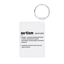 Definition Of Autism Keychains