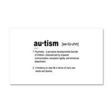 Definition Of Autism Car Magnet 20 x 12