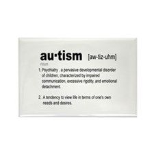 Definition Of Autism Rectangle Magnet (10 pack)