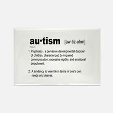 Definition Of Autism Rectangle Magnet