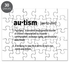 Definition Of Autism Puzzle