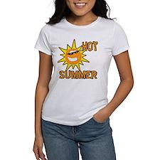 Hot Summer Sun Cartoon Tee