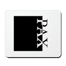 PAX Typography Mousepad