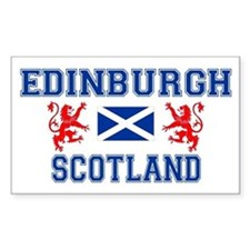Edinburgh Rectangle Decal