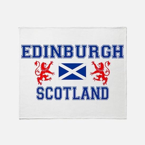 Edinburgh White Throw Blanket