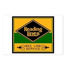 Reading Bee Lines Postcards (Package of 8)