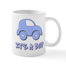 It's a Boy - Baby Boy - Blue Car Mug