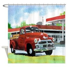 1954 Chevrolet Truck Shower Curtain