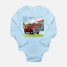 1954 Chevrolet Truck Long Sleeve Infant Bodysuit