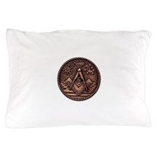 Bronze Freemasonry Pillow Case