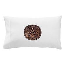 Bronze Freemasonry Pillow Case