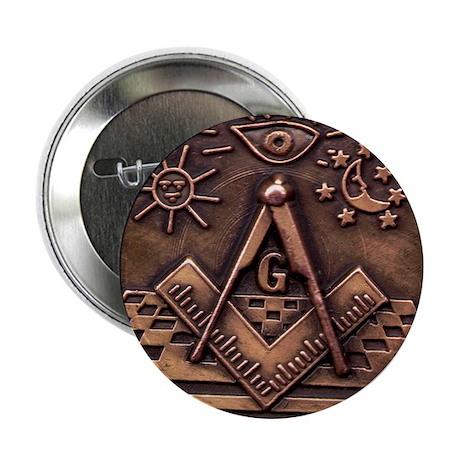 "Bronze Freemasonry 2.25"" Button (10 pack)"