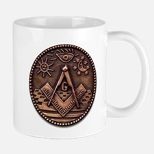Bronze Freemasonry Mug