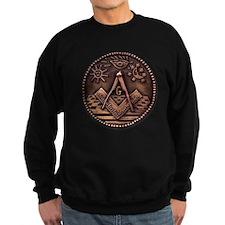 Bronze Freemasonry Sweatshirt