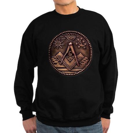 Bronze Freemasonry Sweatshirt (dark)