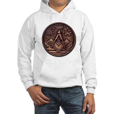 Bronze Freemasonry Hooded Sweatshirt