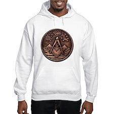 Bronze Freemasonry Jumper Hoody