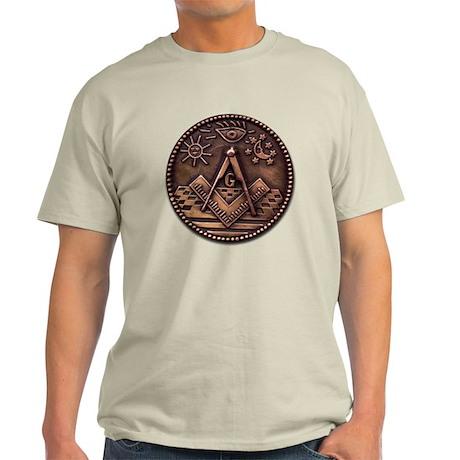 Bronze Freemasonry Light T-Shirt