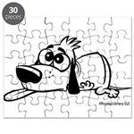 I'm all pooped out! Black & W Puzzle