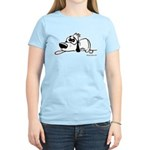 I'm all pooped out! Black & W Women's Light T-Shir