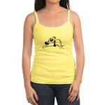I'm all pooped out! Black & W Jr. Spaghetti Tank