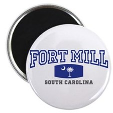 Fort Mill South Carolina, Palmetto State Flag Magn