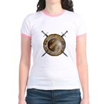 Shield and Sword Jr. Ringer T-Shirt
