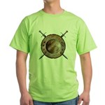 Shield and Sword Green T-Shirt