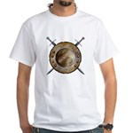 Shield and Sword White T-Shirt