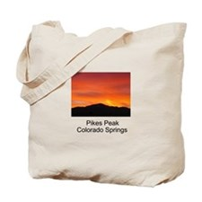 Funny Pikes peak Tote Bag