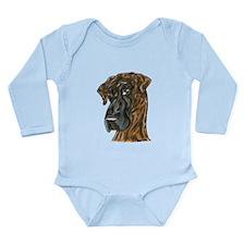 NBr Gal Long Sleeve Infant Bodysuit