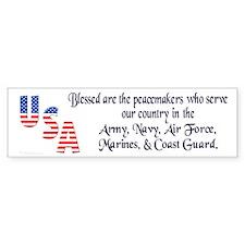 The True Peacemakers Bumper Bumper Sticker
